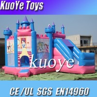 PVC Material inflatable castle type,princess bouncy castle,inflatable bouncer rental