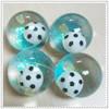 hot selling high quality 65mm TPU flashing bouncing ball for kids