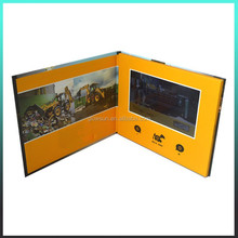 Car Promotion Hard cover greeting video card