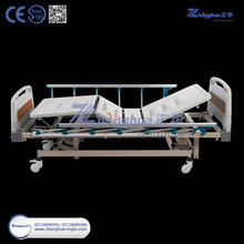 3 crank manual bed overal steel structure hospital bed