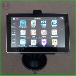 Promotion 5 inch Auto car GPS navigation with 4GB built in memory vehicle gps navigation