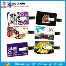 custom cheap Double printing Gift Credit Card USB /usb card /business card Flash Drive Stick 1GB/2GB/4GB/8GB/16GB/32GB/64GB