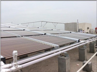 High Efficiency Non Pressurized Vacuum Tube Project Solar Collector For Swimming Pool