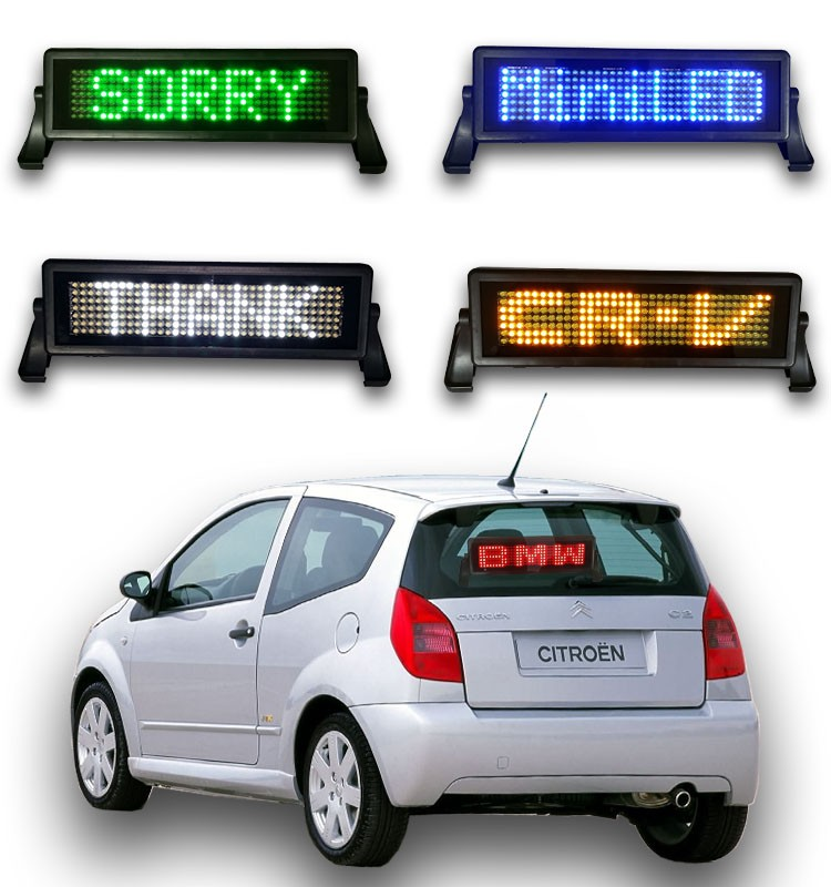 car led sign