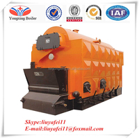 Hot sale Chain grate stoker wood chips timbers biomass fuels steam boiler solid waste incineration steam boiler