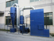 high efficient pulse jet bag dust extraction system with low price