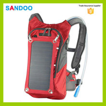 BSCI audit electronic component solar bag, waterproof voltaic solar backpack