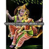 """Indische göttin 10pc hindu-gott krishna radha& handgemachte kunst Ölbild auf samt wandbehang 28"""" x 22"""" großhandel viel"""