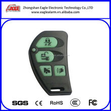 Latest plastic remote control car for car alarm, central door lock, garage door opener with long distance