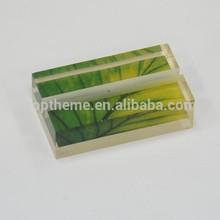 Acrílico / plástico nombre titular de la tarjeta