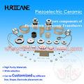 Materiales piezoelectricos en dispositivos, de pzt para el transductor
