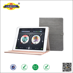 """Flip Bookstyle Stand Sleep & week up Smart leather case cover for IPad Pro 12.9"""" -----Laudtec"""