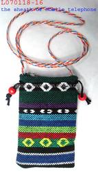 Crochet phone bag cell bag as fashion gift novelties corporate gift business gift