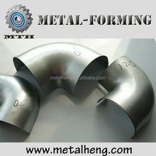 High quality steel short bend halves for ventilating system use