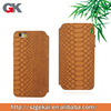 new arrival Snake Skin Flip Leather Case Cover For iphone6s