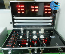 Portable Aluminum multi-function LED Demo Case led test case Hot sale for led light ,led bulbs