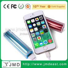 Gifts for 2015/hot 2600mah portal power bank charger,/colorful portable power bank