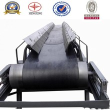 Heat resistant rubber belt conveyor in hot sell