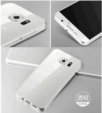 For Samsung Galaxy S6 edge ultra thin case clear TPU case for Samsung S6 edge