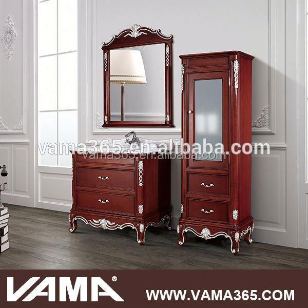 Vama High End Floor Antique Solid Wood Bath Vanity Buy