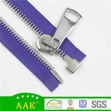 15# platinum open end metal zipper slider