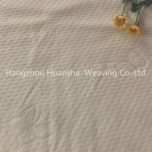 100%polyester white butterfly knitting fabric mattress manufacturers