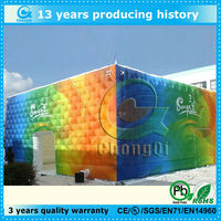 New inflatable exhibition tent