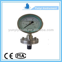 Diaphragm-seal air pressure gauge