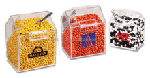 Exquisite custom acrylic candy display box for supermarket