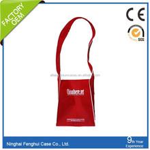 Good Performance shoulder bag with water bottle holder