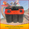 Good Prices Factory offer 12V 4AH Motorcycle Battery Prices -- Ytx4l-bs 6-SWB-4 Black Color Spiral Cell