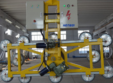 Cantilevered glass vacuum lifter