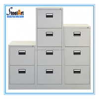 Office furniture 2/3/4 drawer metal filing cabinet