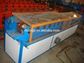 persiana enrollable que forma la máquina con el corte hidráulico