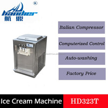 HD323T Table Size Liquid Nitrogen Ice Cream Maker