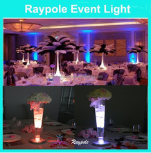 Factory experience high power 6 Inch Round 1PCS 3W LED RGB Remote Control multi-colors led uplights