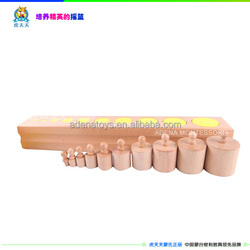 toys for kids.toy.kids toys.children toys.montessori materials,montessori toys,educational Wooden Toy.-Wood .Cylinder Block.