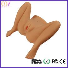 male Masturbator mini muñecas del sexo para hombre alta calidad tamaño completo grande culo sexy y grasa vagina de silicona