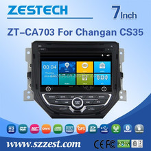 Special car audio player 2015 car audio for Changan CS35 Support Russia Menu with map Russian Language Navigator