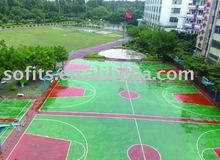 Outdoor Basketball Court Suspended Interlocking Sports Flooring,Basketball Court Sports Flooring System