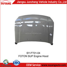 High Quality Engine Hood/Bonnet/Engine Cover For Foton Sup