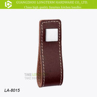 Luxury furniture cabinet leather handle