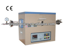 Compact split quartz tube furnace with PID control