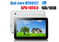 Most Cheapest 10 Inch Quad Core Android 4.4 Tablet pc 1024*600 1GB/8GB WIFI/Bluetooth 4.0/FM/GPS//External 3G
