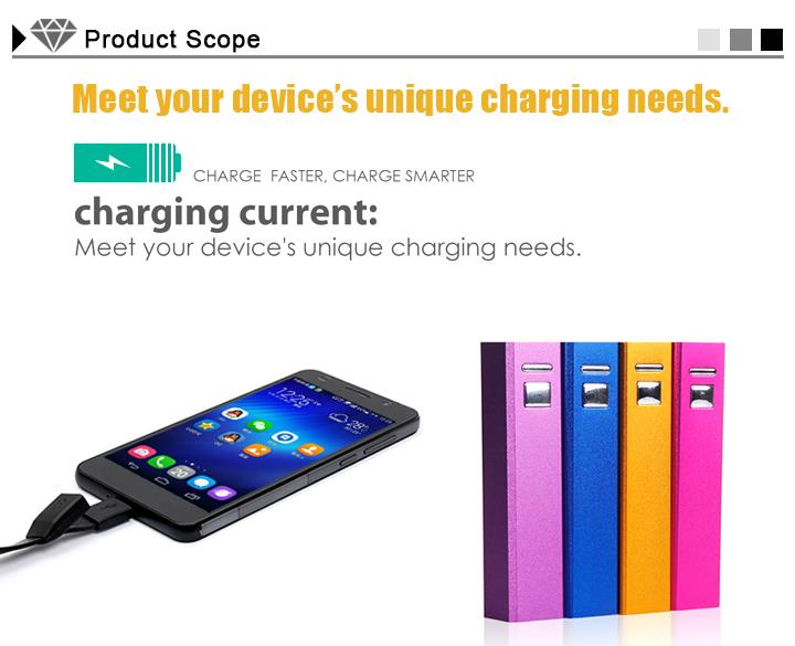 2600mAh Universal Portable Charger USB External Battery Power Pack