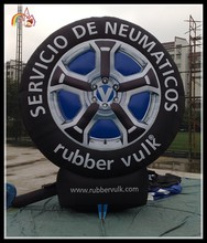 Advertising decoration custom made inflatable tyre