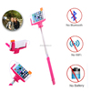 Hot selling extendable selfie stick cable mobile phone accessories factory in china