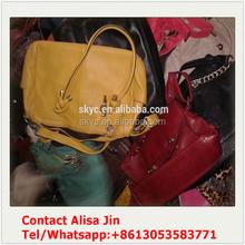 Guangzhou used bags second hand high quality fashion elegance ladies handbag