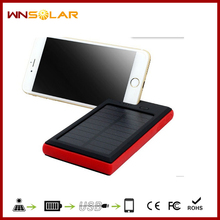 professional Electronic Products solar charger supplier Universal external handy solar power bank charger