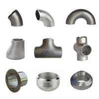 ANSI B16.9 Stainless Steel BW Fittings elbow/tee/cap/CON RED/ECC RED304 304L 316 316L 321 317L 347H 904